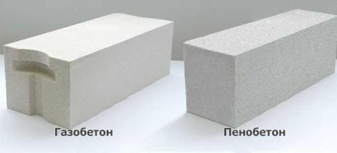 Каких размеров бывают пенобетонные блоки