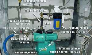 Часто включается насосная станция при наборе воды