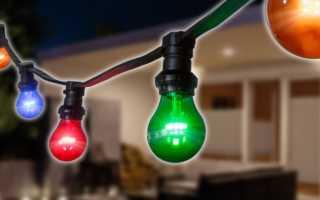 Как сделать цветные лампочки с помощью краски