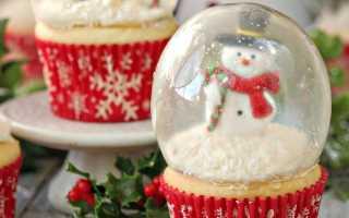 Как сделать вкусные кексы на новогодние каникулы