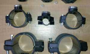 Шаг крепления трубопроводов в зависимости от диаметра