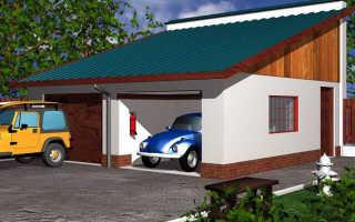 Односкатная крыша из профнастила — пошаговый мастер-класс по строительству