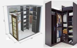 Как сделать гардеробную — планировка и наполнение